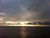 Melihat sunrise